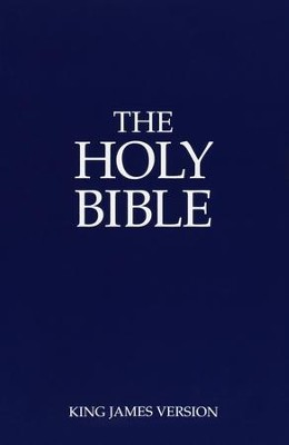 KJV Holy Bible, Economy Edition - Slightly Imperfect   -
