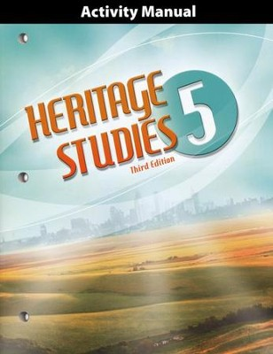 BJU Heritage Studies Grade 5 Student Activity Manual (3rd Edition)    -