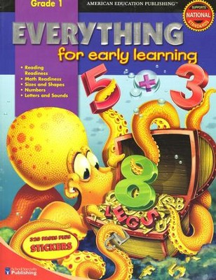 Everything for Early Learning, Grade 1    -