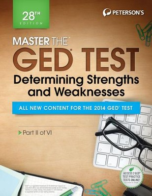 Master the GED Test: Determining Strengths & Weaknesses: Part II of VI - eBook  -