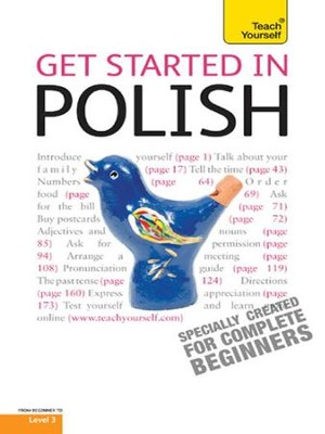 Get Started in Polish: Teach Yourself / Digital original - eBook  -     By: Joanna Michalak-Gray