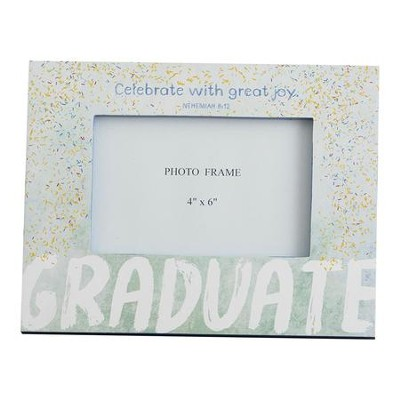 Celebrate with Great Joy, Graduate, Photo Frame  -