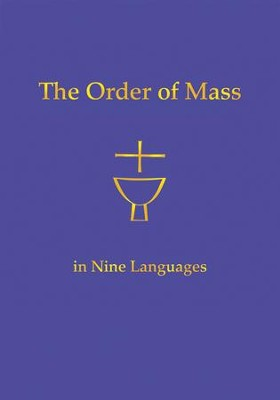 The Order of Mass in Nine Languages  -