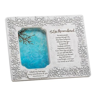 A Life Remembered Sympathy Photo Frame  -