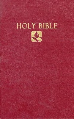 NRSV Pew Bible, Burgundy Hardcover --Slightly Imperfect   -