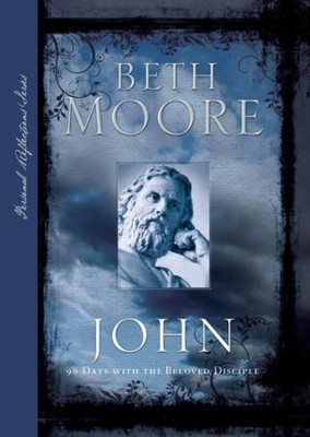 John: 90 Days with the Beloved Disciple - eBook  -     By: Beth Moore