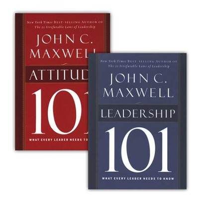 What Every Leader Needs to Know Series, 2 Volumes   -     By: John C. Maxwell