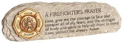 A Firefighter's Prayer Plaque  -