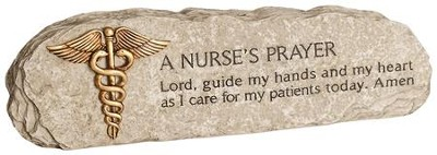 A Nurse's Prayer Plaque  -