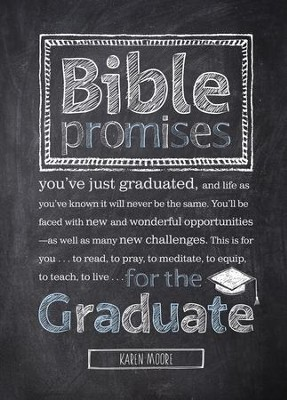 Bible Promises for the Graduate - eBook  -     By: Karen Moore