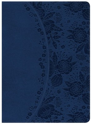 Holman Study Bible: NKJV Edition, Indigo LeatherTouch, Thumb-Indexed  -