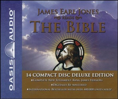 King James Bible, New Testament                  - Audio Bible on CD  -