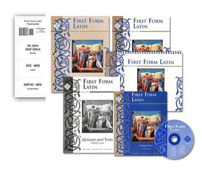 First Form Latin: Kit plus Pronunciation CD, Flashcards and DVD's  -     By: Cheryl Lowe