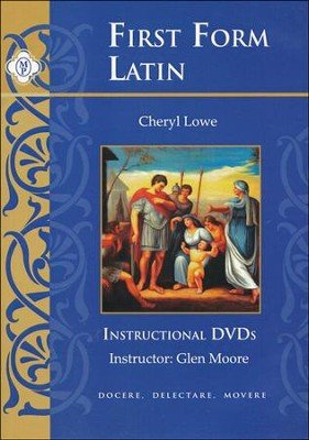 First Form Latin DVD's   -     By: Cheryl Lowe