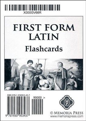 First Form Latin Flashcards   -     By: Cheryl Lowe