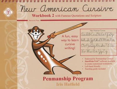 New American Cursive, Book 2  -     By: Iris Hatfield