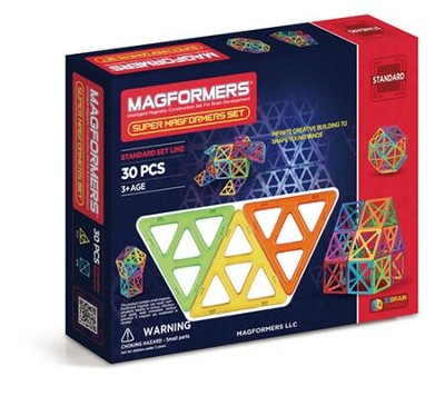 SuperMagformers 30 Piece Set   -