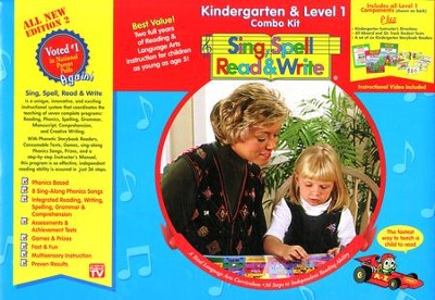 Sing, Spell, Read & Write, Kindergarten/Level 1 Combo Kit   -