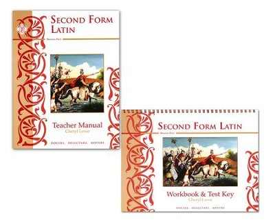 Second Form Latin, Teacher's Manual with Answer Key   -     By: Cheryl Lowe