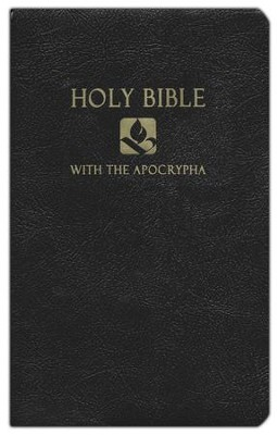 NRSV Gift & Award Bible with Apocrypha, Imitation leather, Black   -