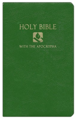 NRSV Gift & Award Bible with Apocrypha, Imitation leather, Green   -