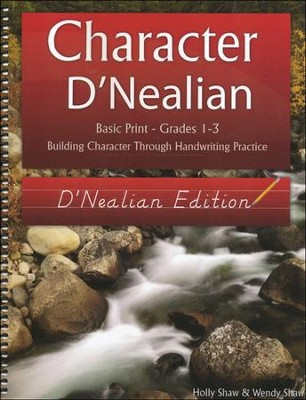 Character D'Nealian: Basic Print Grades 1-3, D'Nealian Edition  -     By: Holly Shaw, Wendy Shaw