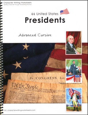 44 United States Presidents: Advanced Cursive, Getty-Dubay Edition  -     By: Holly Shaw, Wendy Shaw