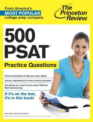 500 PSAT Practice Questions - eBook  -     By: Princeton Review