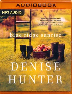 Blue Ridge Sunrise - unabridged edition on MP3-CD  -     By: Denise Hunter