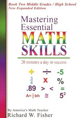 Mastering Essential Math Skills: Book Two DVD New Expanded Edition  -     By: Richard W. Fisher