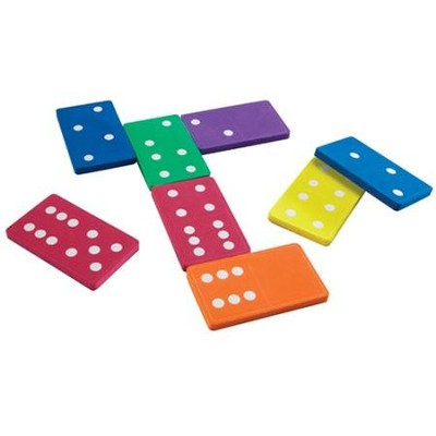 Jumbo Foam Dominoes  -