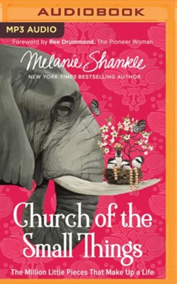 The Church of the Small Things: The Million Little Pieces  that Make Up a Life - unabridged edition on    -     By: Melanie Shankle