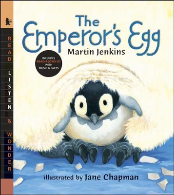 The Emperor's Egg With Audio CD  -     By: Martin Jenkins