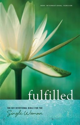 Fulfilled: The NIV Devotional Bible for the Single Woman - eBook  -