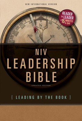 NIV Leadership Bible: Leading by The Book - eBook  -