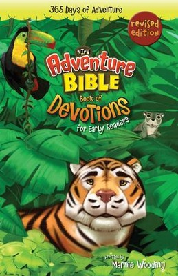 Adventure Bible Book of Devotions for Early Readers, NIrV: 365 Days of Adventure - eBook  -     By: Marnie Wooding