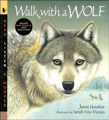 Walk with a Wolf With Audio CD  -     By: Janni Howker