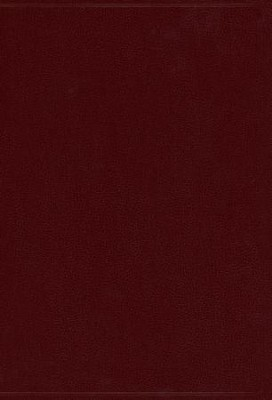 KJV Super Giant Print Reference Bible, Imitation leather, burgundy  -