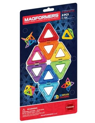 Magformers Triangles 8 Piece Set   -