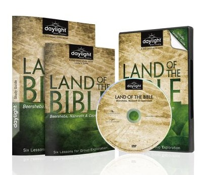 Land of the Bible: Beersheba, Nazareth & Capernaum DVD with Leader's Guide  -