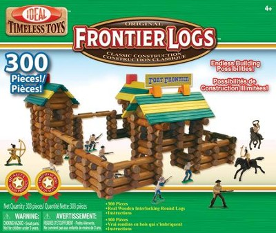 300-Piece Frontier Logs with 20-Piece Action Figures   -