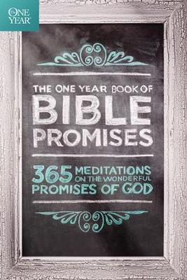 The One Year Book of Bible Promises: 365 Meditations on the Wonderful Promises of God - eBook  -     By: James Stuart Bell