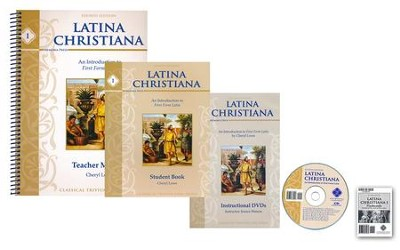 Latina Christiana I Texts, DVDs & Flashcards Set (Updated)  -     By: Cheryl Lowe