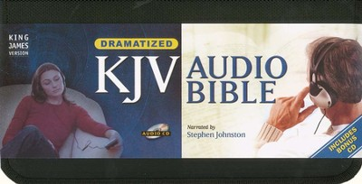 KJV Bible on CD, Dramatized   -     Narrated By: Stephen Johnston