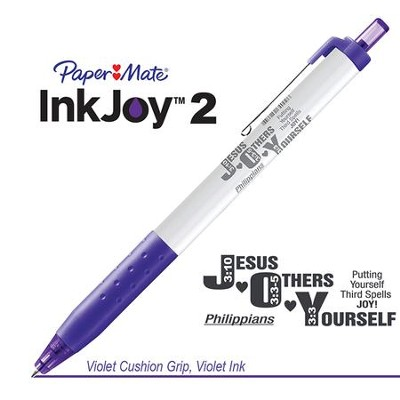 Jesus Others Yourself Pen, Violet  -