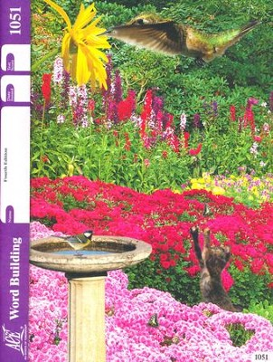 Word Building PACE 1051, Grade 5 (4th Edition)   -