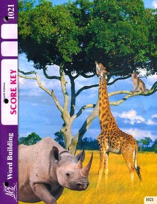 Word Building PACE SCORE Key 1021, Grade 2 (4th Edition)  -