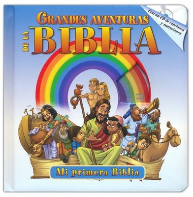 Grandes Aventuras de la Biblia, con CD de Audio  (Great Adventures of the Bible Boardbook, with audio CD)  -     By: Yoko Matsuoka