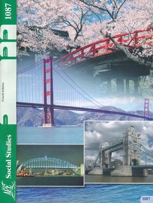 Grade 8 Social Studies PACE 1087 (4th Edition)  -
