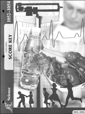 Science Grade 5 PACE Score Key 1052-1054, 4th Edition   -